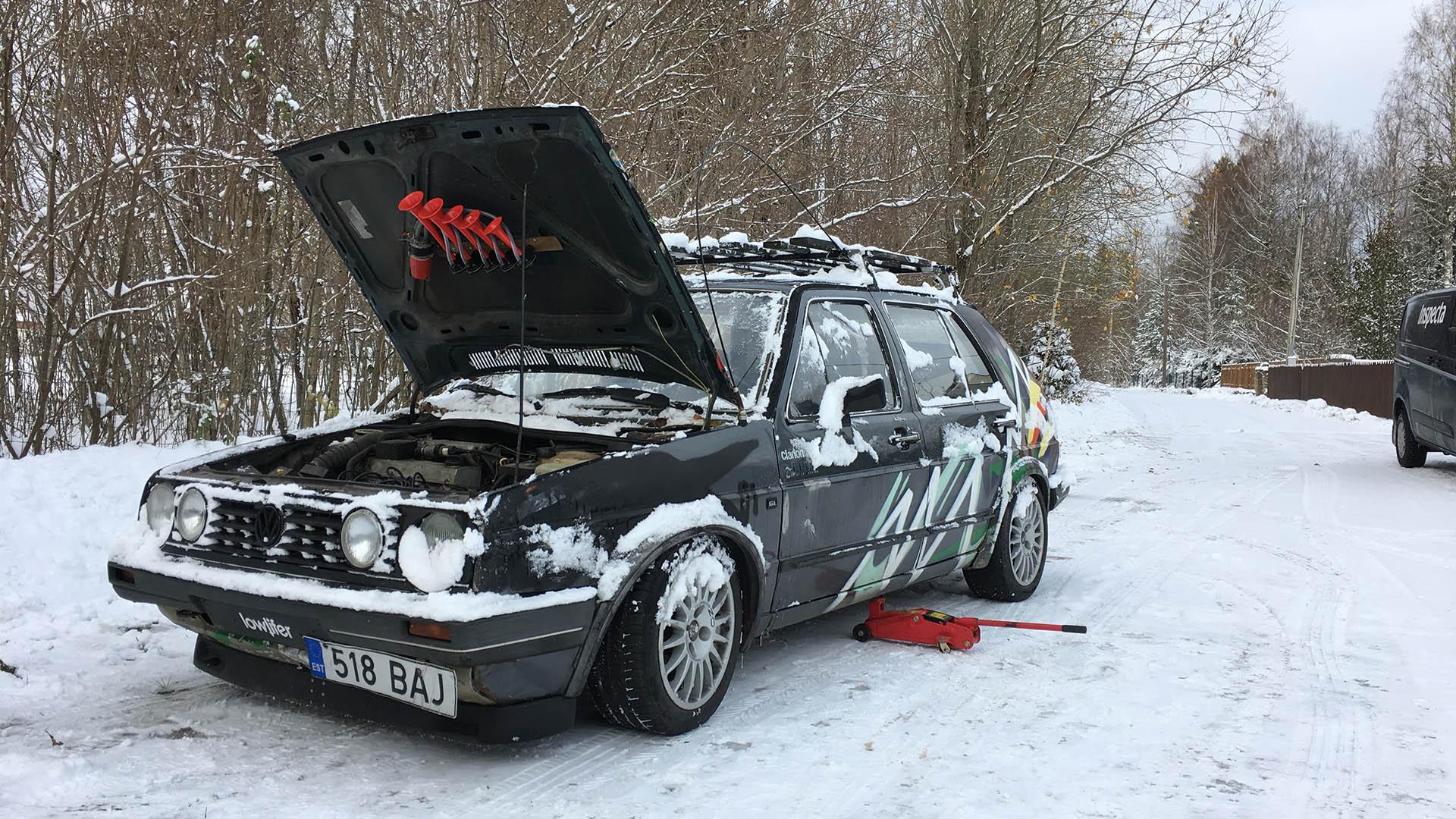 892a890d93e VW Golf II GL 2.0 85kW (2E) - 1986 RAT - Alan - Leht 6 - Eesti ...
